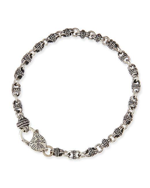 Konstantino | Metallic Men's Sterling Silver Mini-link Bracelet for Men | Lyst