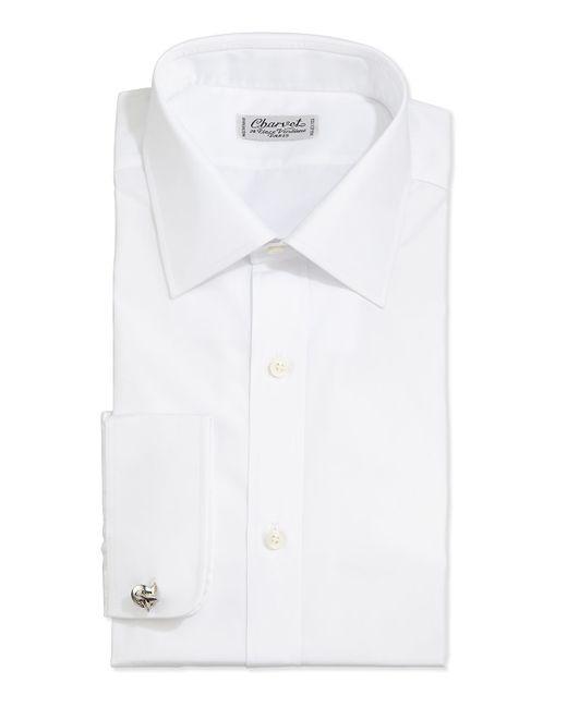 Charvet | White Solid Poplin Dress Shirt for Men | Lyst
