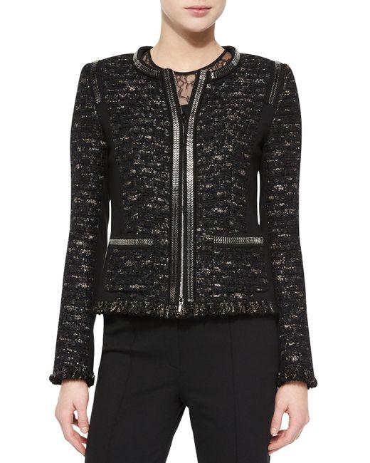 ESCADA | Black Dondi Zip-chain Jacket | Lyst