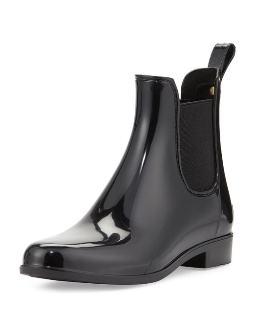 Sam Edelman   Black Tinsley Rubber Chelsea Rainboots   Lyst