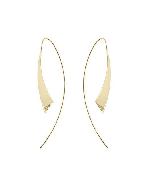 Lana Jewelry | Metallic Medium Gloss Thread-through Hoop Earrings | Lyst
