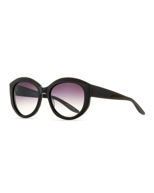 Barton Perreira | Black Patchett Gradient Sunglasses | Lyst
