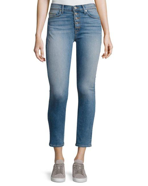 Hudson   Blue Ciara High-rise Super Skinny Ankle Jeans   Lyst