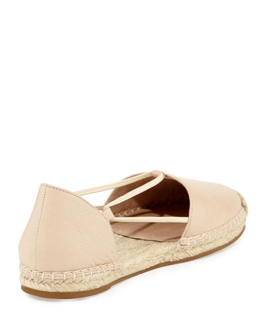 Eileen Fisher   Multicolor Lee Leather D'orsay Espadrille Flat   Lyst