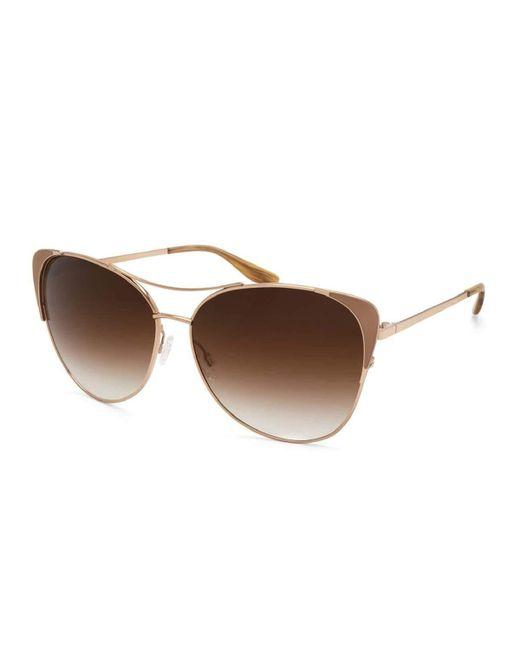 Barton Perreira   Metallic Raphina Cat-eye Aviator Sunglasses   Lyst