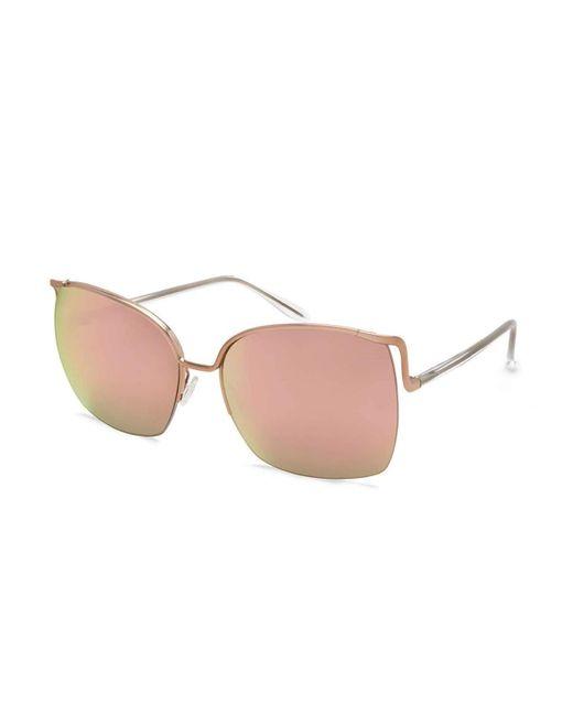 Barton Perreira | Pink Satdha Semi-rimless Square Sunglasses | Lyst
