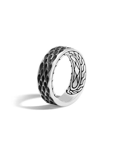 John Hardy - Metallic Men's Legends Naga Dragon Sterling Silver Band Ring for Men - Lyst