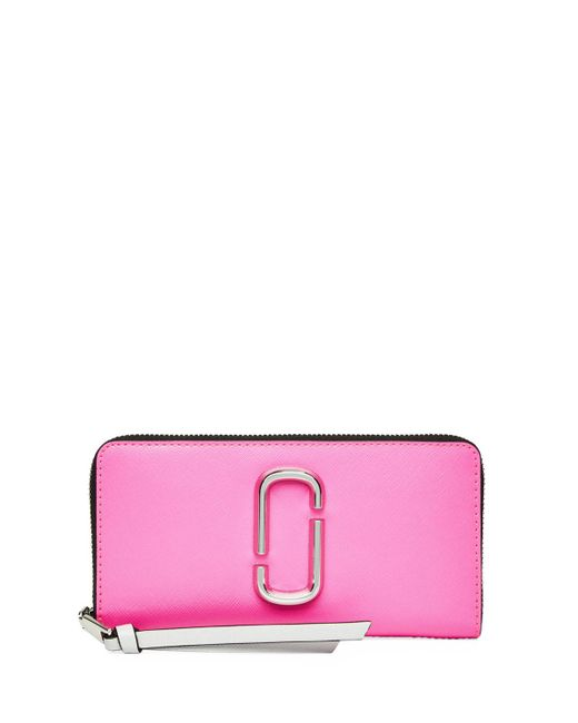 Marc Jacobs - Pink Standard Continental Wallet - Lyst
