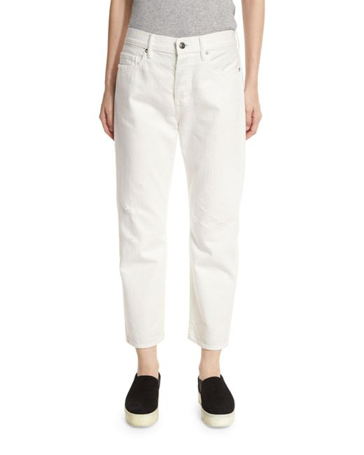 Vince - White 1961 Union Slouch Jeans - Lyst