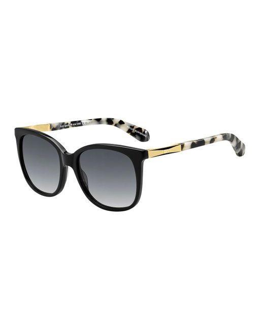 Kate Spade | Brown Julieanna Round Sunglasses | Lyst