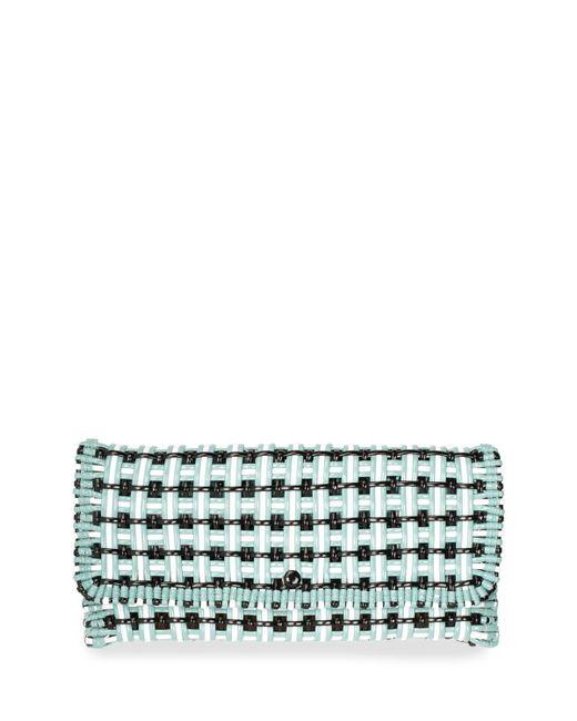 Balenciaga | Multicolor Bistro Cabas Medium Woven Clutch Bag | Lyst
