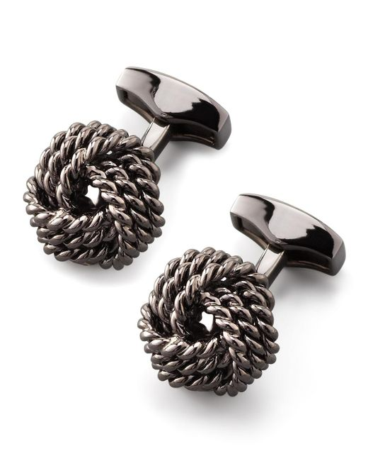 Tateossian | Multicolor Knot Round Cuff Links for Men | Lyst