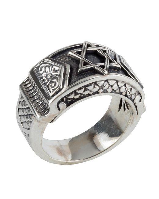 Konstantino | Metallic Men's Sterling Silver Star Of David Ring for Men | Lyst