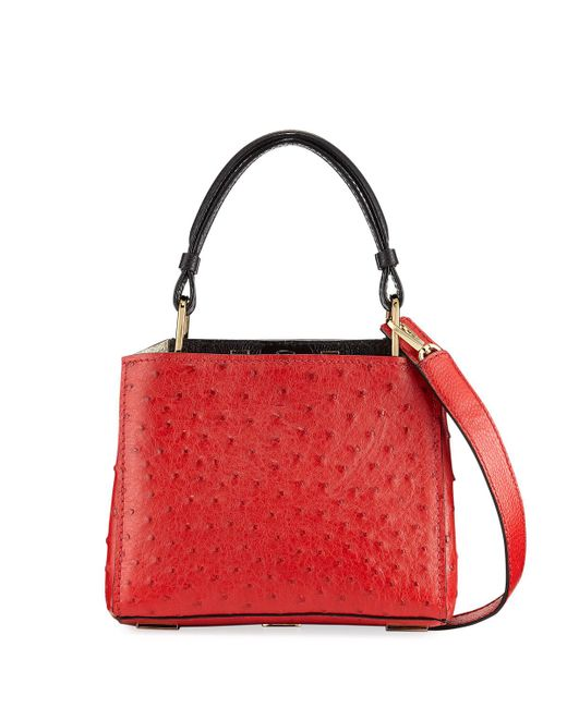 VBH | Red Seven 20 Ostrich Top Handle Bag | Lyst