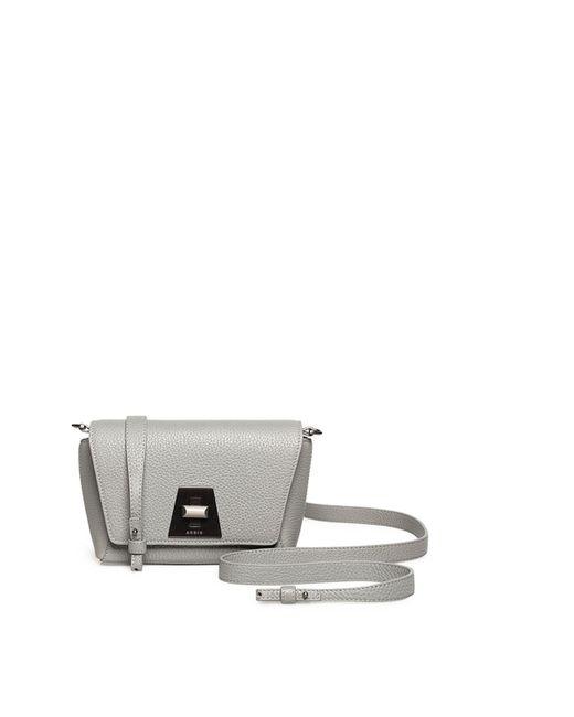 Akris - Gray Anouk Leather Little Day Bag - Lyst