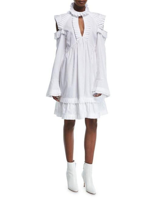 Maggie Marilyn - White Olivia's Cold-shoulder Dress - Lyst