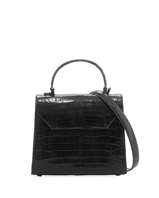 Nancy Gonzalez - Black Medium Crocodile Lady Bag - Lyst