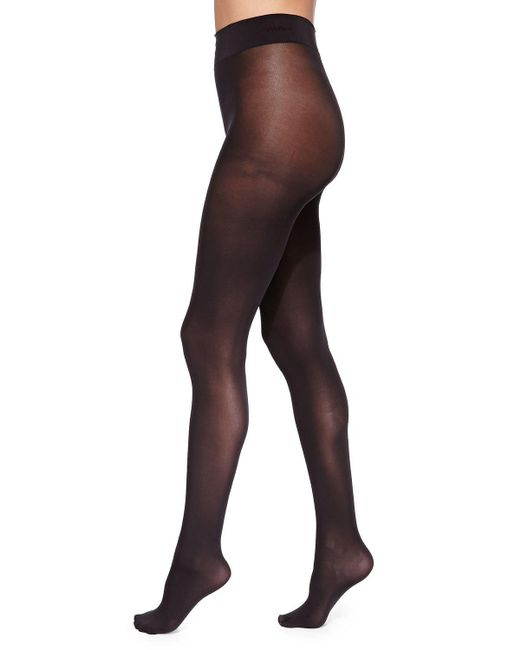 Wolford - Black Pure 50 Basic Opaque Tights - Lyst