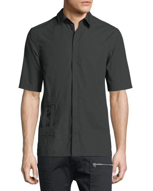 Helmut Lang   Black Bar Tab Ss Shirt for Men   Lyst