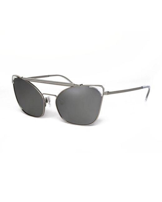 Grey Ant - Black Chat Brow-bar Cat-eye Sunglasses - Lyst