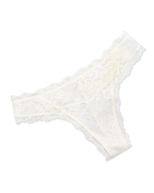 Lise Charmel - White Love Magicienne Lace Thong - Lyst