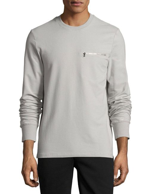 2xist | Gray Modern Classic Sweatshirt for Men | Lyst