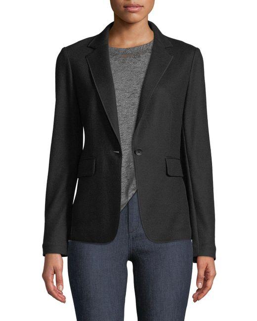 Rag & Bone | Black Club Wool Single-button Jacket | Lyst