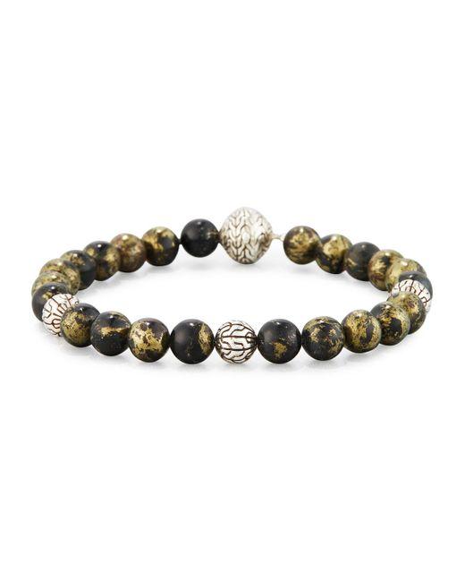 John Hardy - Metallic Modern Chain Bead Bracelet for Men - Lyst