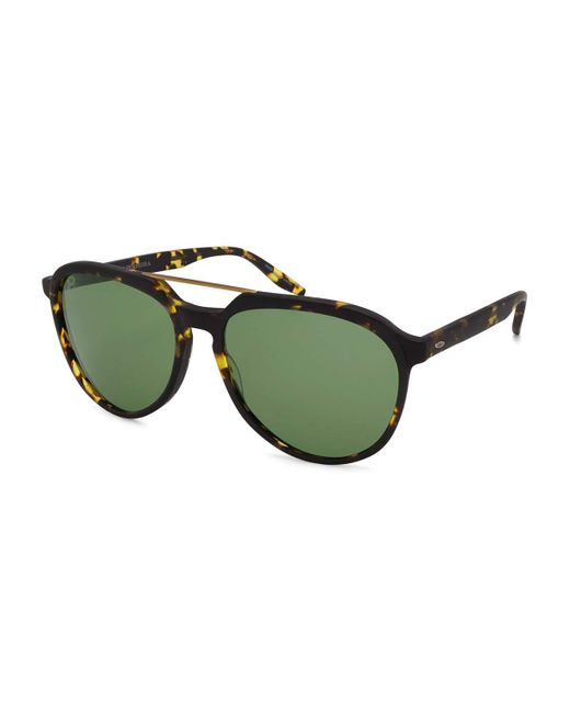 Barton Perreira | Green Bulger Acetate Teardrop Aviator Sunglasses | Lyst