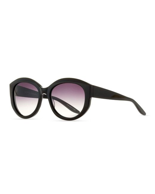 Barton Perreira | Black Patchett Gradient Sunglasses | Lyst