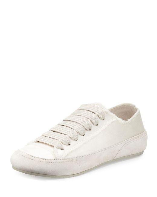Pedro Garcia | Multicolor Parson Satin Low-top Lace-up Sneaker | Lyst