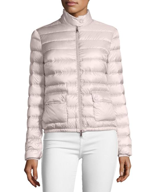 69150731bcef Lyst - Moncler Lans Collared Down Jacket