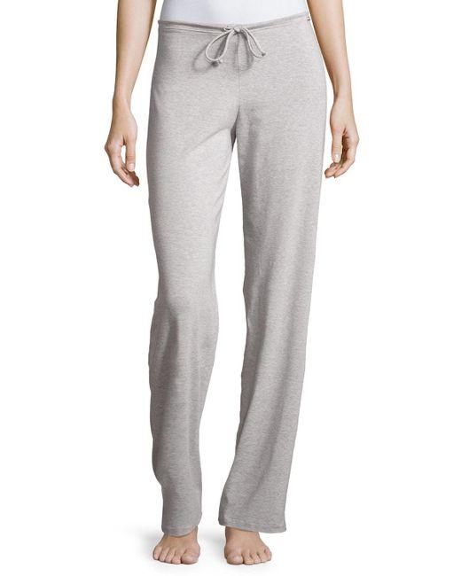 La Perla - Gray New Project Drawstring Lounge Pants - Lyst