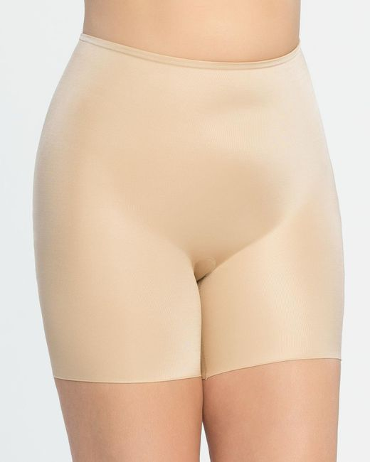 Spanx - Black Plus Size Firm-control Double-layered Thigh Slimmer 10131p - Lyst