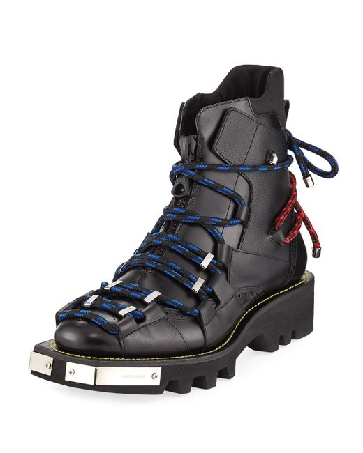 DSquared² - Black Men's Bungee Jump Boot for Men - Lyst