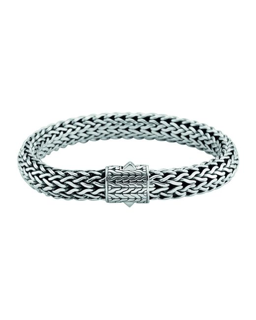 John Hardy - Metallic Men's Large Classic Chain Bracelet for Men - Lyst