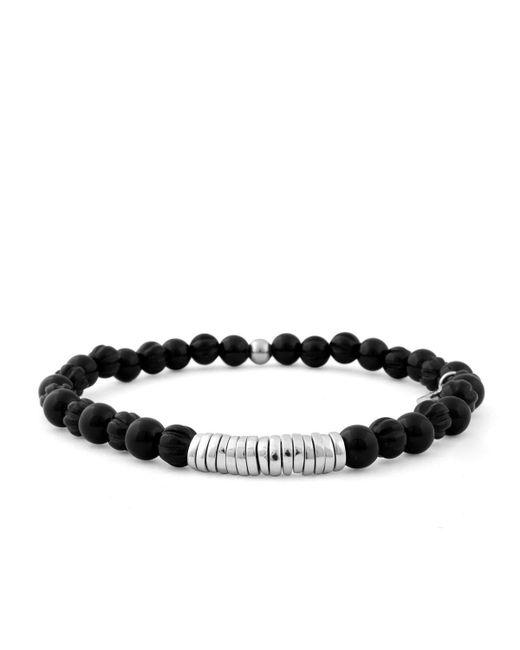 Tateossian   Black Men's Onyx Beaded Bracelet for Men   Lyst