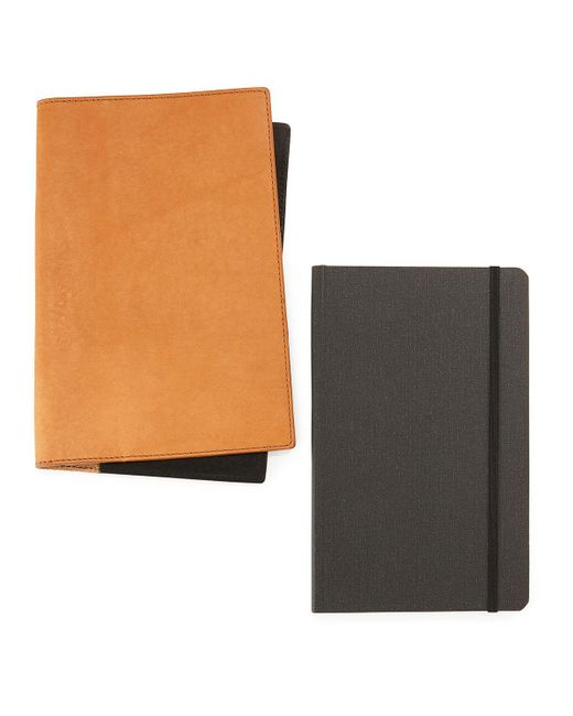 Shinola - Blue Journal Set With Leather Cover - Lyst