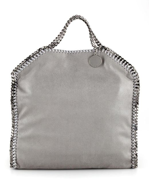 Stella McCartney - Gray Falabella Fold-over Tote Bag - Lyst