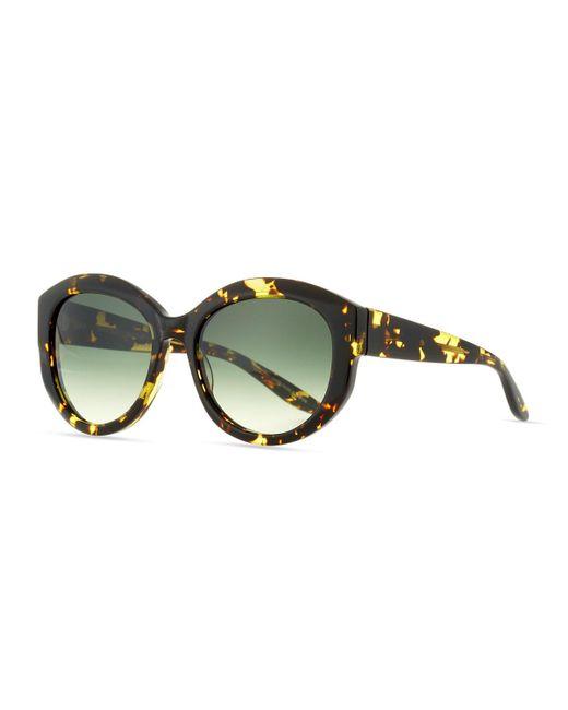 Barton Perreira   Brown Patchett Tortoiseshell Sunglasses   Lyst