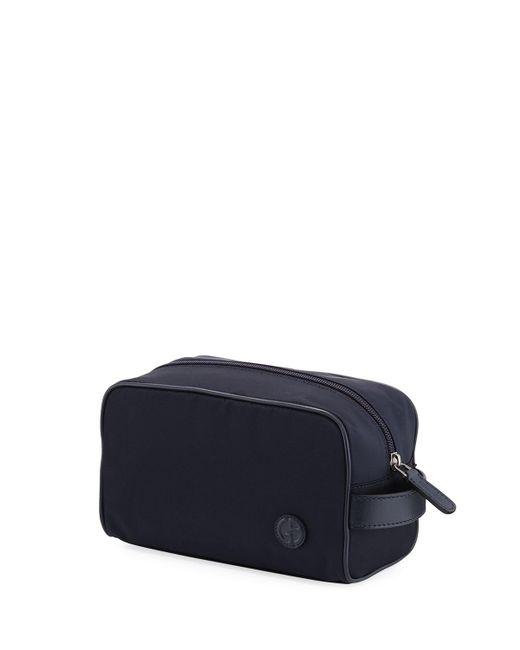 Giorgio Armani - Blue Nylon Travel Toiletry Kit - Lyst