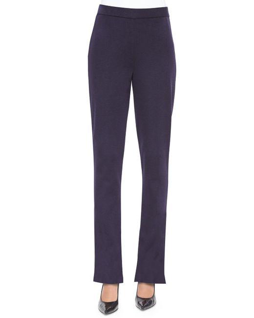Misook - Blue Casey Boot-cut Pants - Lyst