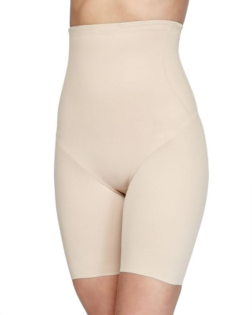 Tc Fine Intimates | Natural Firm Control Hi-waist Thigh Slimmer | Lyst
