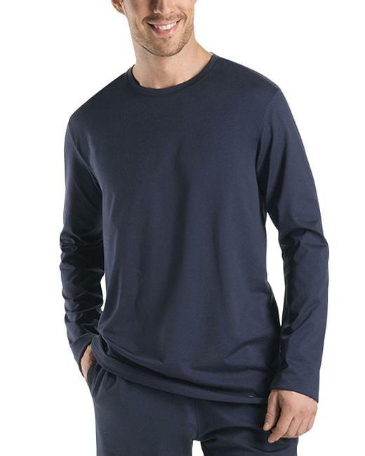 Hanro | Gray Night & Day Long-sleeve Shirt for Men | Lyst