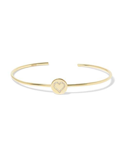 Jennifer Meyer | Metallic 18-karat Gold Diamond Bracelet | Lyst