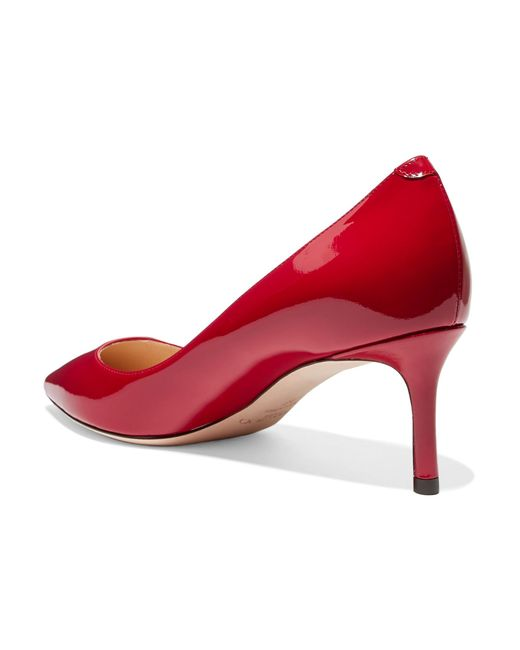 d7a2fdb3bce Lyst - Jimmy Choo Romy 60 Patent-leather Pumps in Red - Save ...