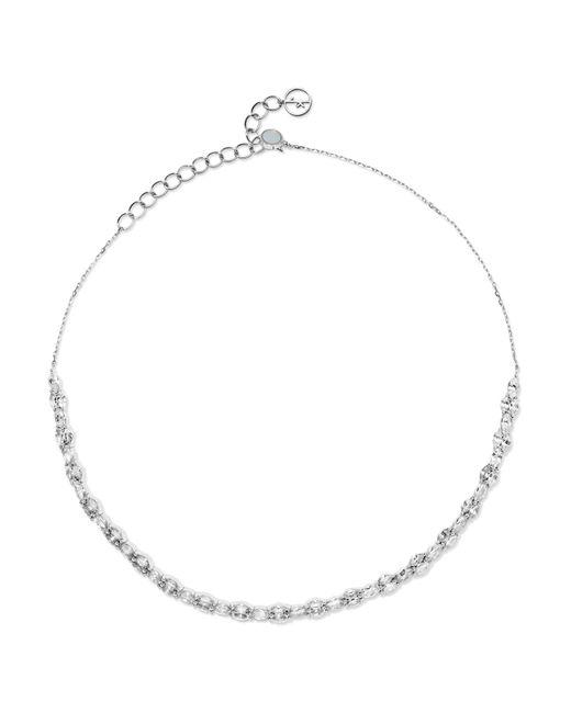 Anissa Kermiche - Riviera 18-karat White Gold, Sapphire And Pearl Choker - Lyst
