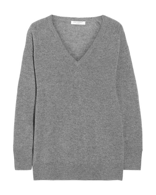 Equipment - Gray Asher Oversized Cashmere Sweater - Lyst
