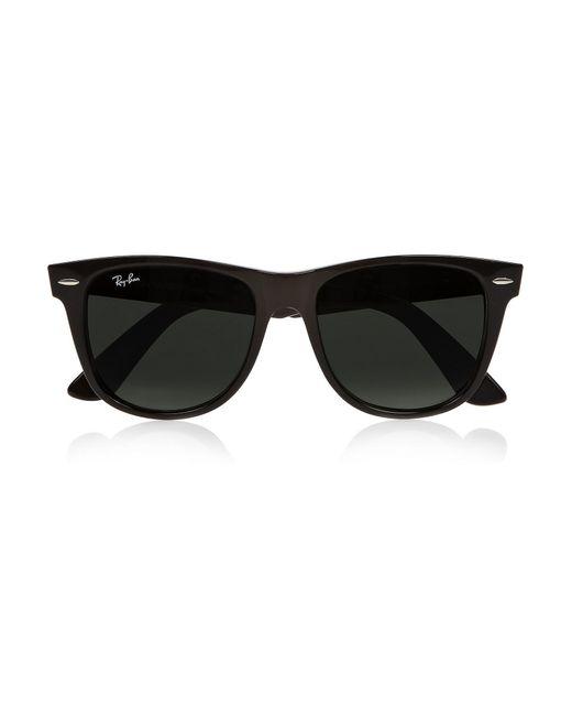 Ray-Ban | Black The Wayfarer Acetate Sunglasses | Lyst