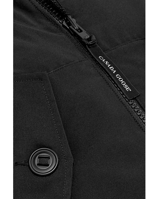 a237c56e02f Lyst - Canada Goose Olympia Shell Down Parka in Black